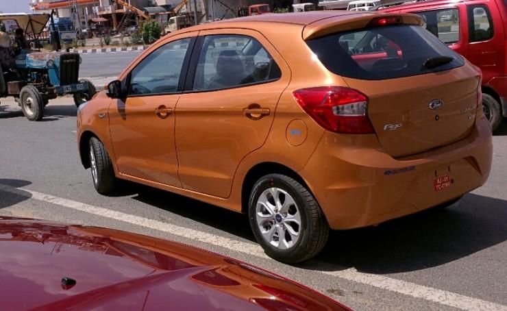 Ford Figo review rear