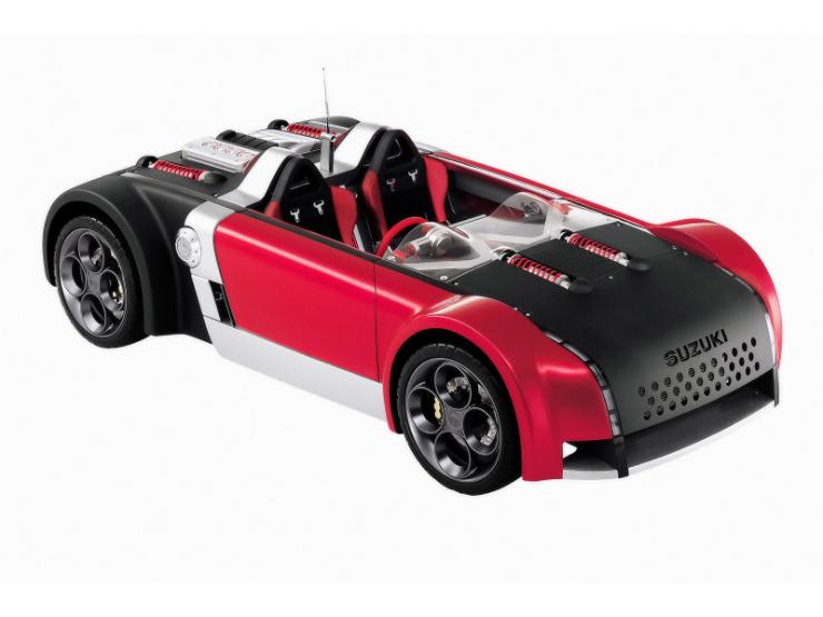 2001 Suzuki GSX-R/4 concept