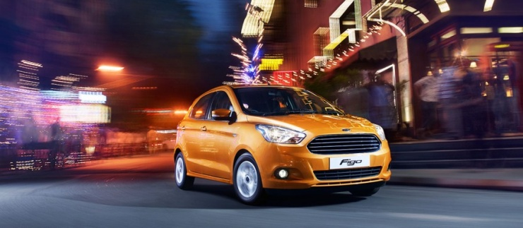 2015 Ford Figo Hatchback 1