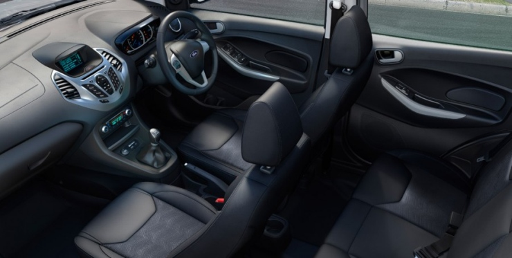 ford figo interior image
