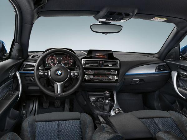 BMW 1 Series Facelift interior