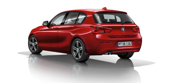 BMW 1 Series Facelift Sport Line rear
