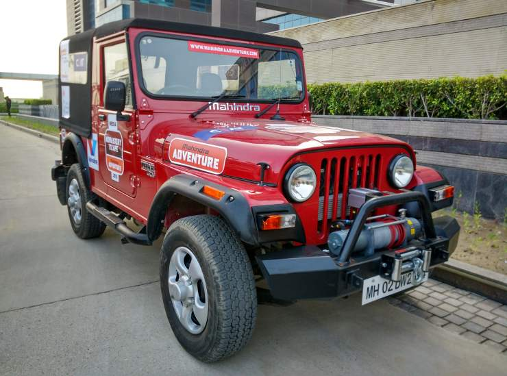 Day 1 - Our ride - the Thar