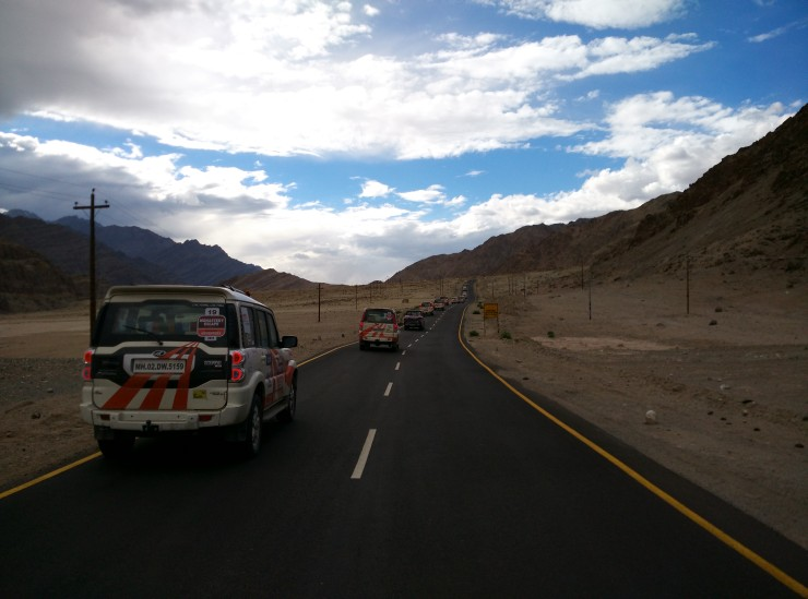 Day 6 Smooth tarmac around Leh