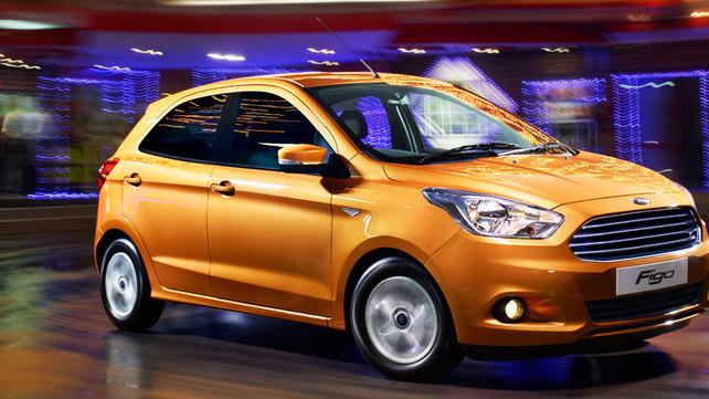 Ford Figo hatchback front