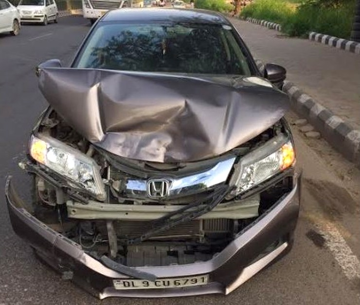 Airbags won't deploy always; Here's a Honda City's story