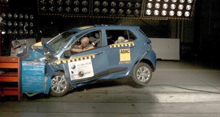 Hyundai Grand i10 Latin NCAP 2