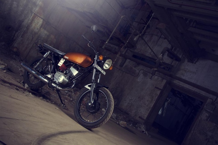 JC Moto's Yamaha RX135 Bright Spark 1
