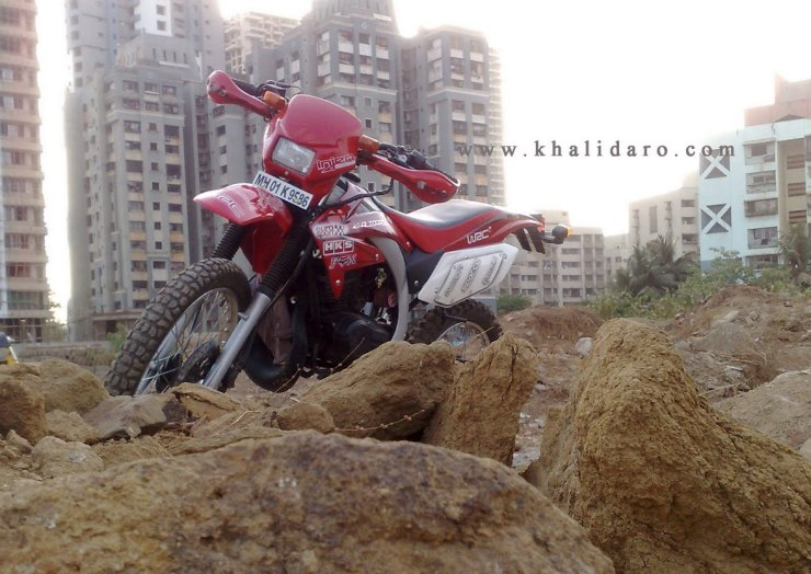 Khalidaro Design's Yamaha RX135 based dirt bike 1