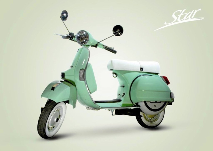five gorgeously retro scooters you can buy in india. Black Bedroom Furniture Sets. Home Design Ideas
