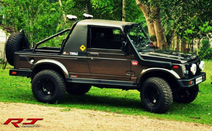 RJ Design's Maruti Suzuki Gypsy King 1