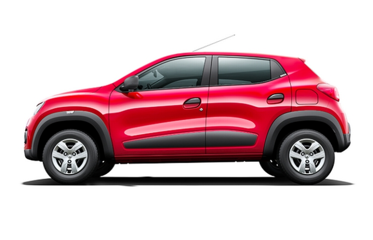 Renault Kwid in Red 3