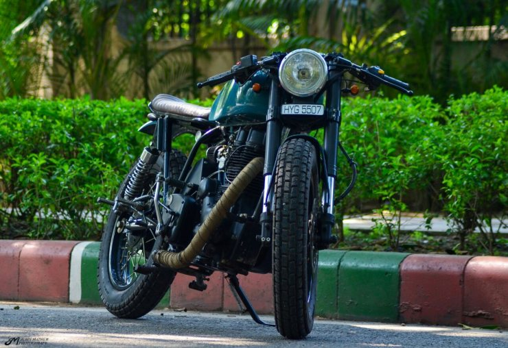 Young Kid Custom's Cafe Racer 350 1