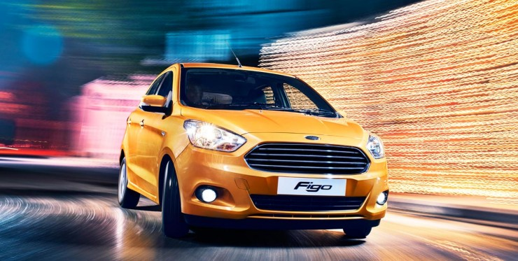Ford Figo front motion