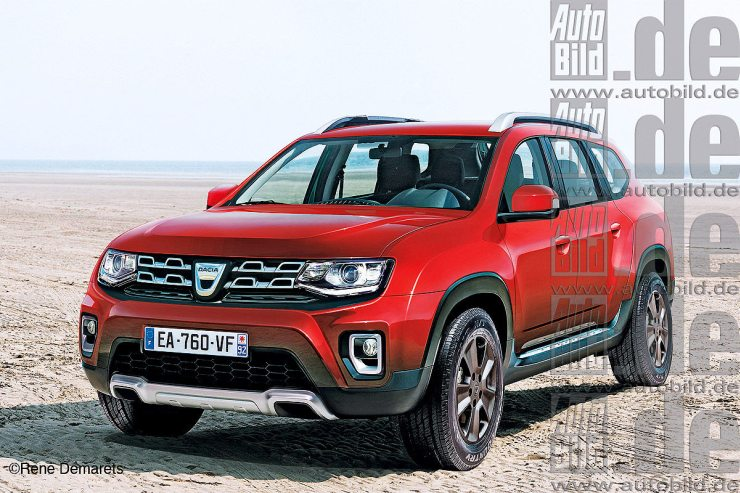 2017 All-New Renault Duster Render 1
