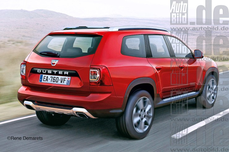 2017 All-New Renault Duster Render 2
