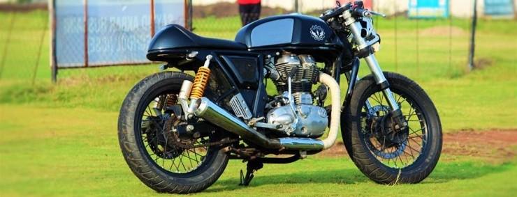 Buraq Motorcycles' Continental GT Custom 1