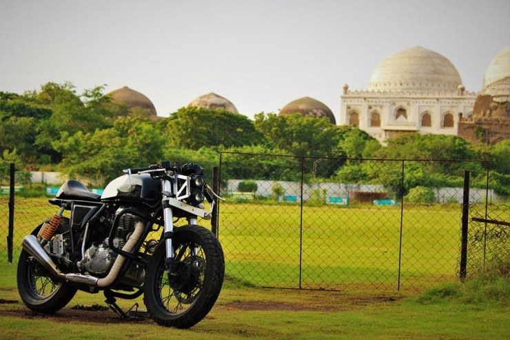 Buraq Motorcycles' Continental GT Custom 3