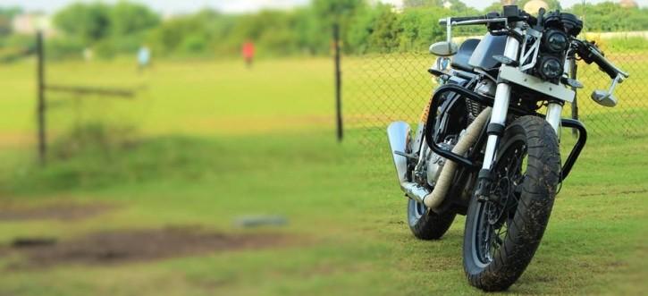 Buraq Motorcycles' Continental GT Custom 5
