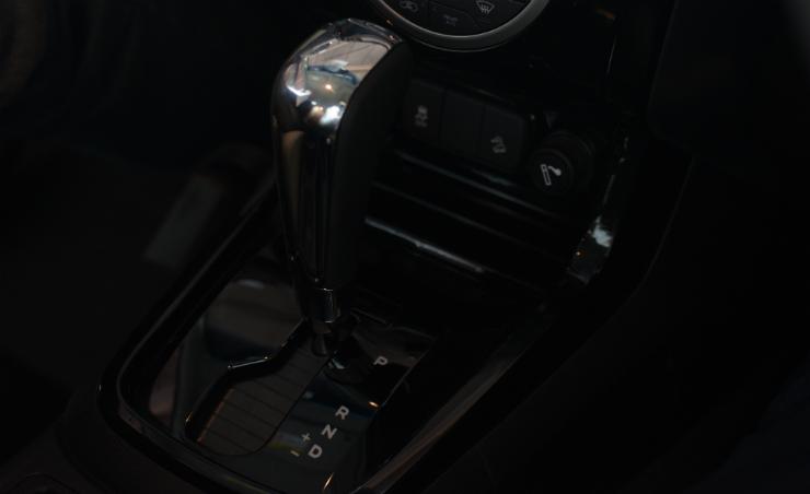 Chevrolet Trailblazer gearstick