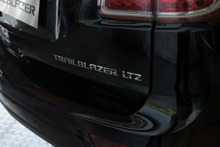 Chevrolet Trailblazer badge