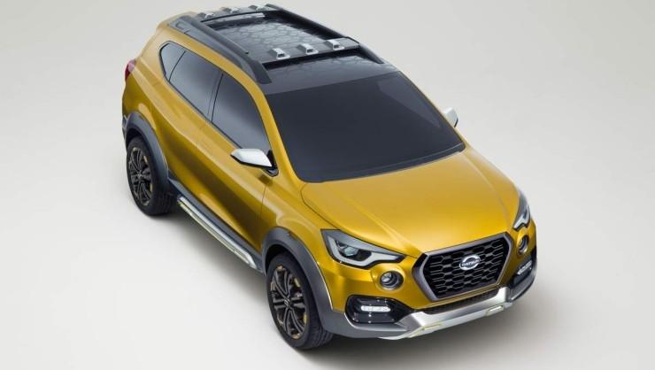Datsun Go-Cross Compact SUV Concept 3