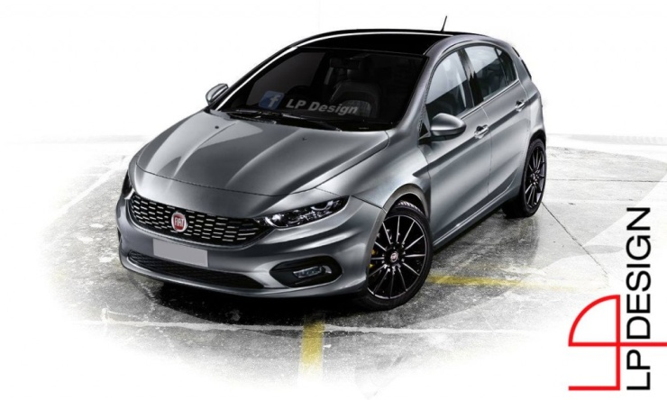 Fiat Tipo Render 1