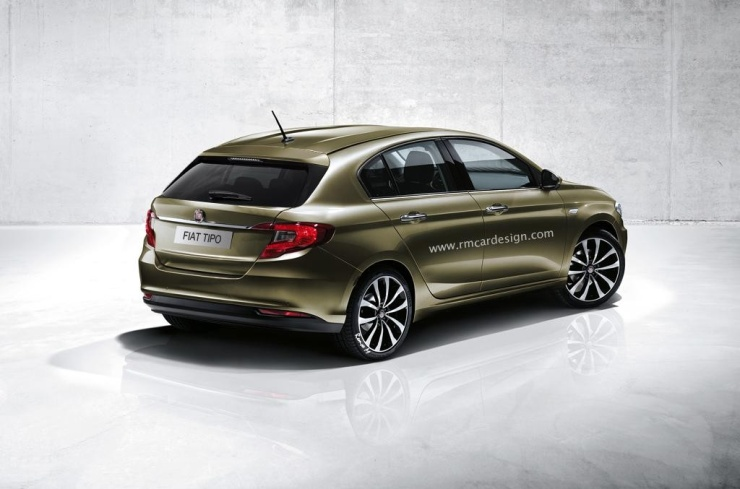 Fiat Tipo Render 2