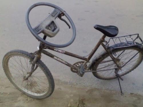 Jugaad Bicycle Steering