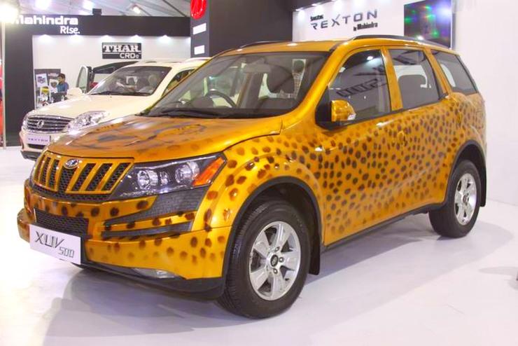 Mahindra XUV500 Cheetah Edition 1