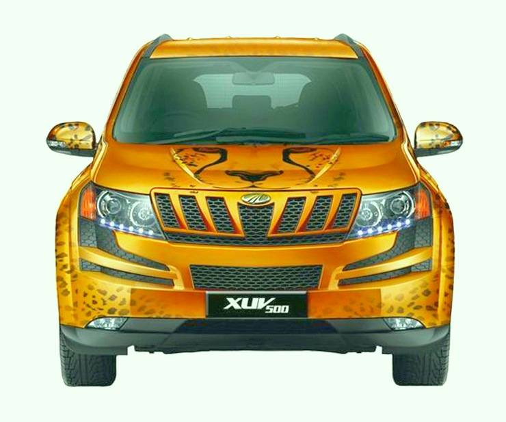 Mahindra XUV500 Cheetah Edition 2