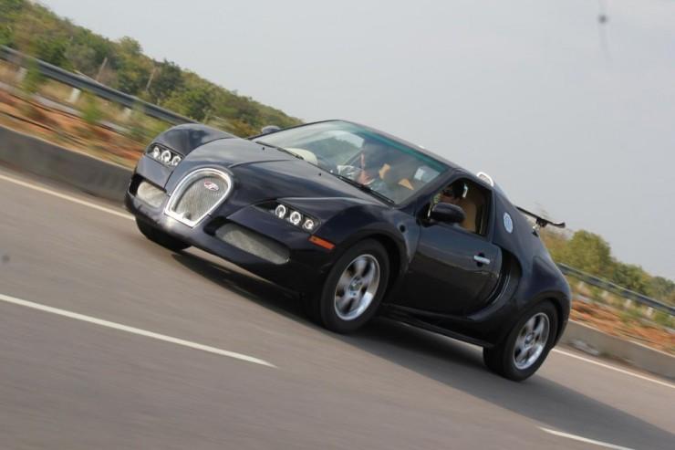 Maruti Suzuki Esteem based Bugatti Veyron Indi