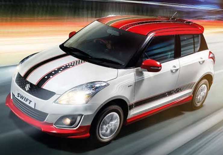 Maruti-Swift-Glory-Edition-front