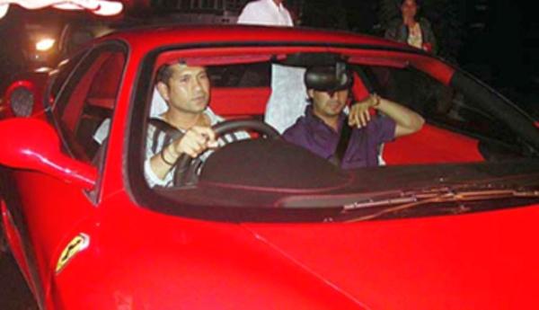 Sachin Tendulkaru0027s Ferrari 360