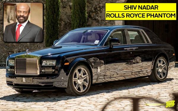 Shiv Nadar's Rolls Royce Phantom