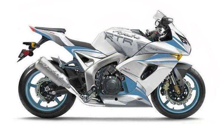 TVS Fully Faired Sportsbike