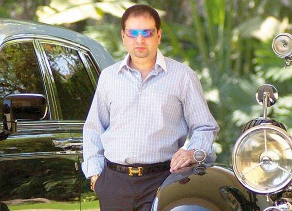 Yohan Poonawalla with his Rolls Royces