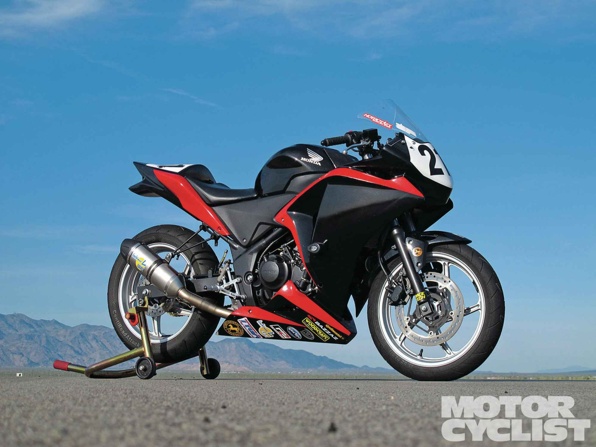 Five Custom Honda Cbr 250rs