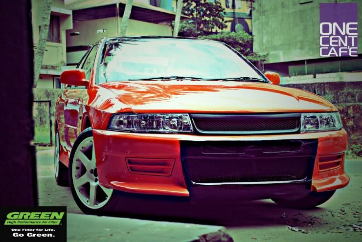 Mitsubishi Lancer modified India