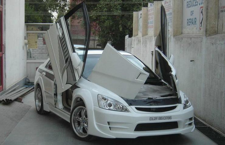 Honda Accord modified Autopsyche