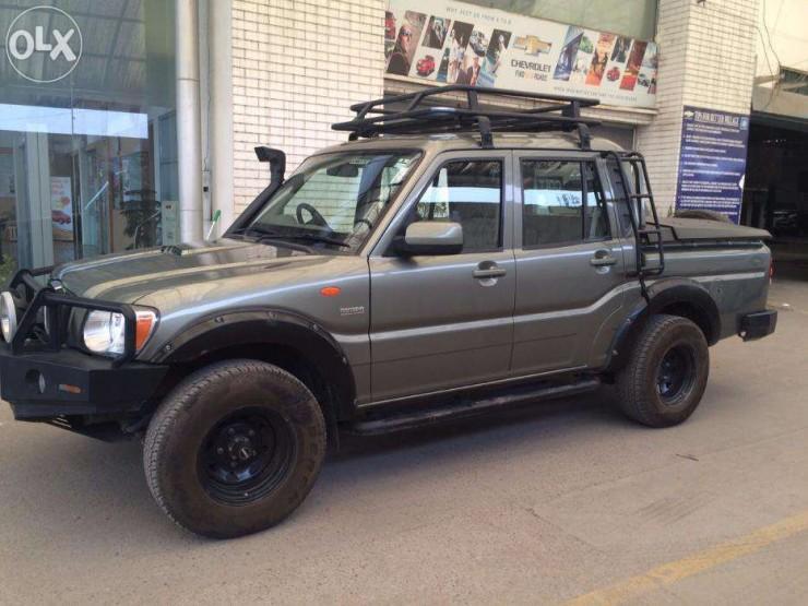 Mahindra Scorpio Getaway custom