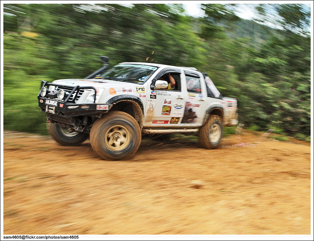 Isuzu D-Max rally