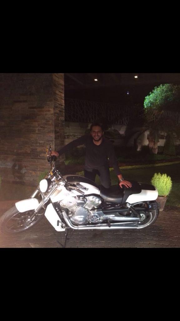 Afridi Harley Davidson