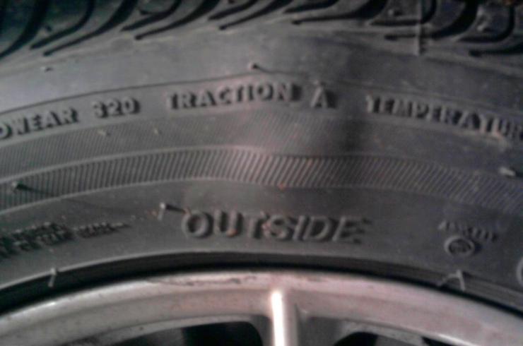 Bulged Tyre
