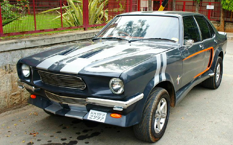 Used 2015 Mustang Gt >> 5 hot, modified Hindustan Contessa cars