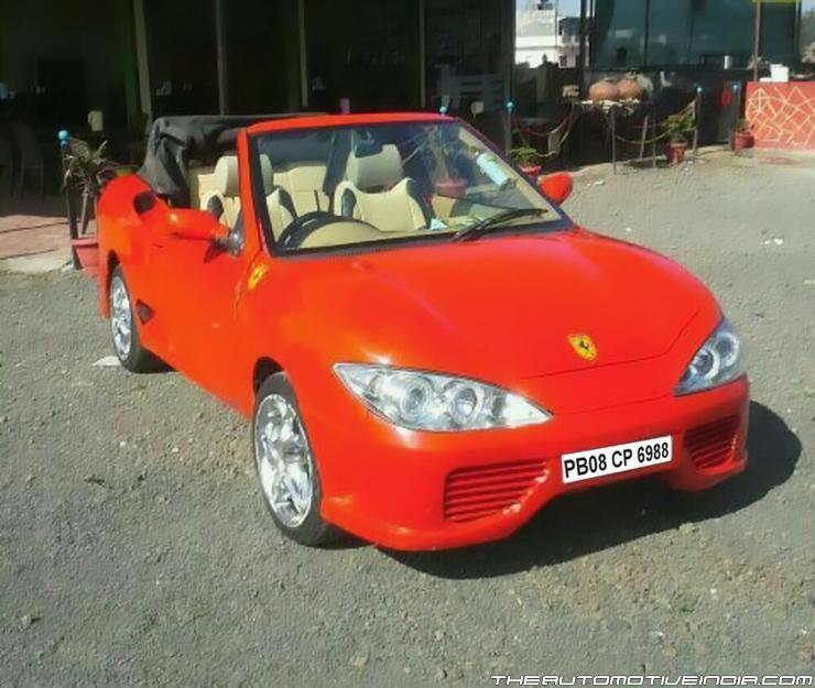 Maruti-Esteem-Ferrari