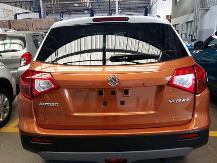 Maruti Suzuki Vitara NEXA spied India