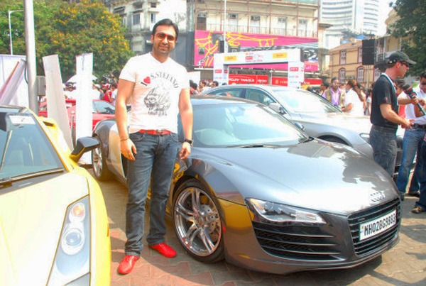 Raj Kundra Audi R8