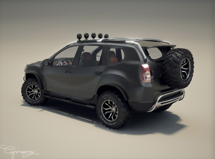 renault duster 5 great modification ideas. Black Bedroom Furniture Sets. Home Design Ideas