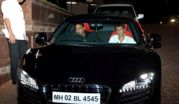 Sanjay Dutts Audi R8
